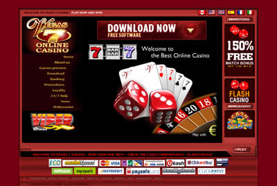 Vegas 7 flash casino electronic holds on casino credit lines